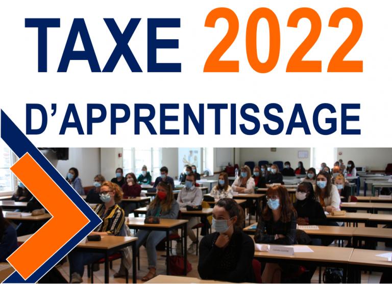 Taxe d'apprentissage 2022